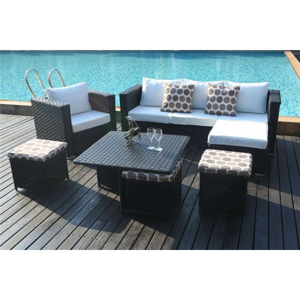 Yakoe Monaco 9 Seater Sofa Set Deluxe Dreams Outdoors