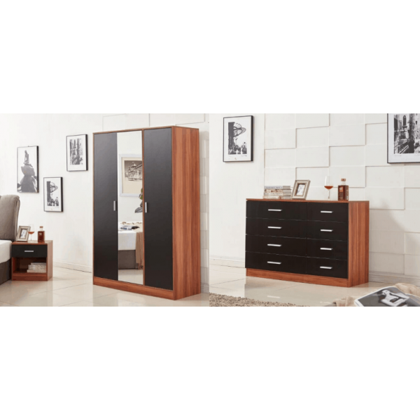 Awesome Black Walnut Bedroom Furniture Set Range Wardrobe Dreams Complete Home Design Collection Epsylindsey Bellcom