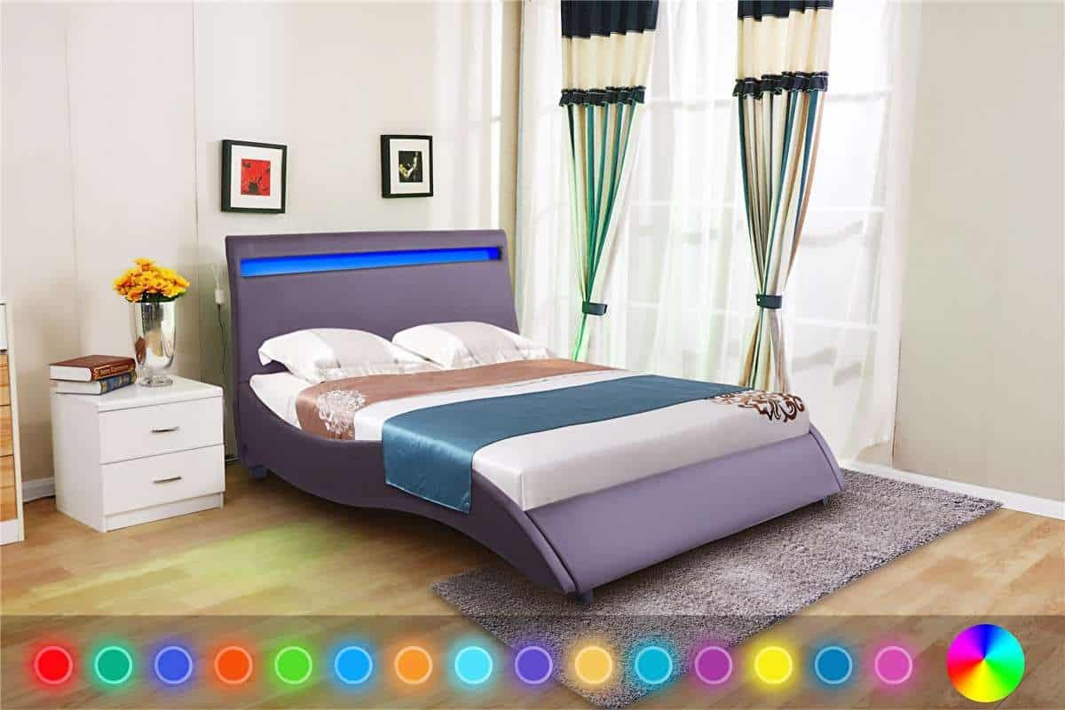 huge discount 0d5fd 0f39a LED Headboard 4FT6 Double Size Bed Frame only | Dreams Outdoors