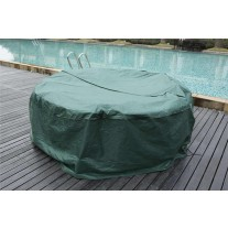Protective rain cover for rattan furniture