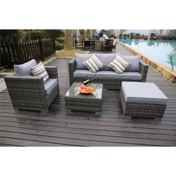 rattan garden furniture set patio consevatory outdoor. Black Bedroom Furniture Sets. Home Design Ideas
