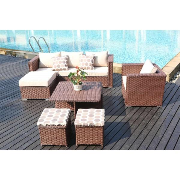 Yakoe Monaco 9 Seater Sofa Set Large Dreams Outdoors